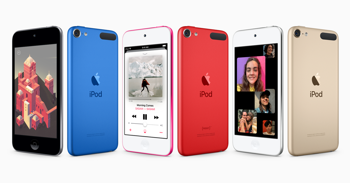 iPod touch (2019) now comes with the A10 Fusion chip