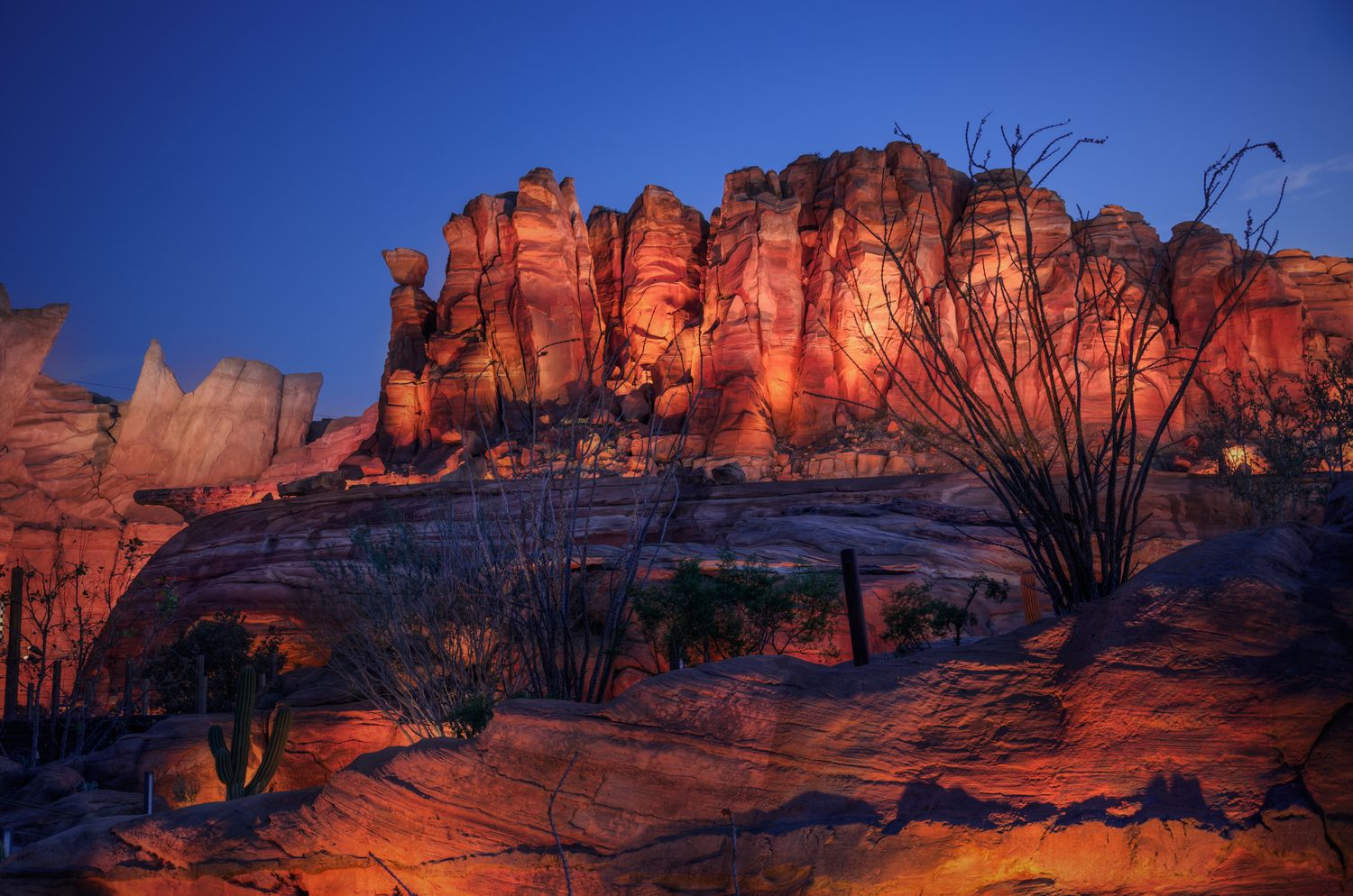 TWILIGHT AT ORNAMENT VALLEY by Michaela Hansen