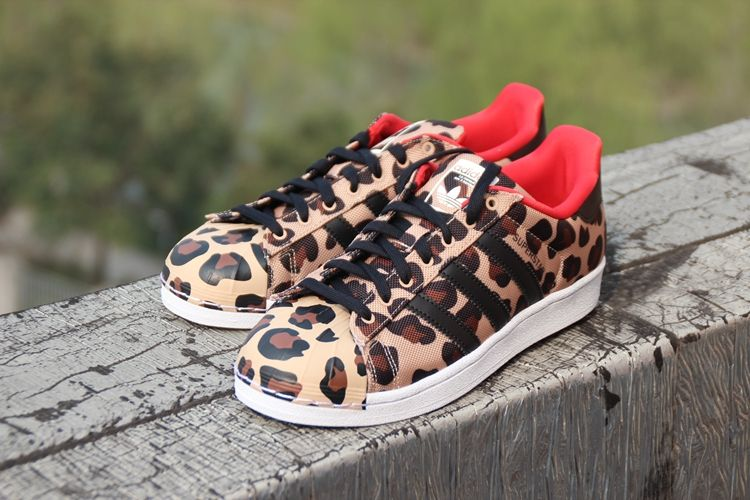 ADIDAS ORIGINALS SUPERSTAR WILD CHEETAH LEOPARD SHELL TOE S75185