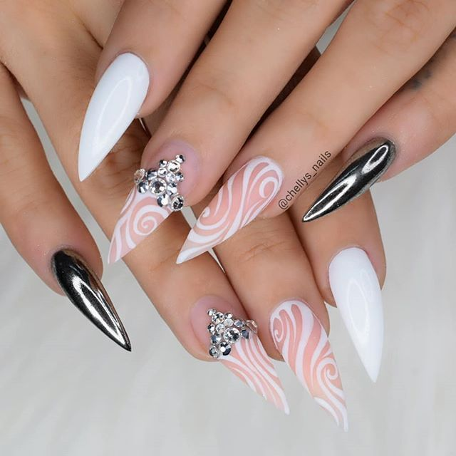 Photo of @pelikh_Michelle Soto (@chellys_nails)  Instagram photos and videos    nägel