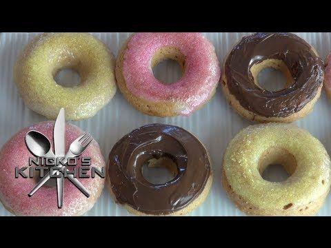 Vegan Donuts Bonus They Re Baked Vegan Donuts Fair Food Recipes Ensaymada Recipe