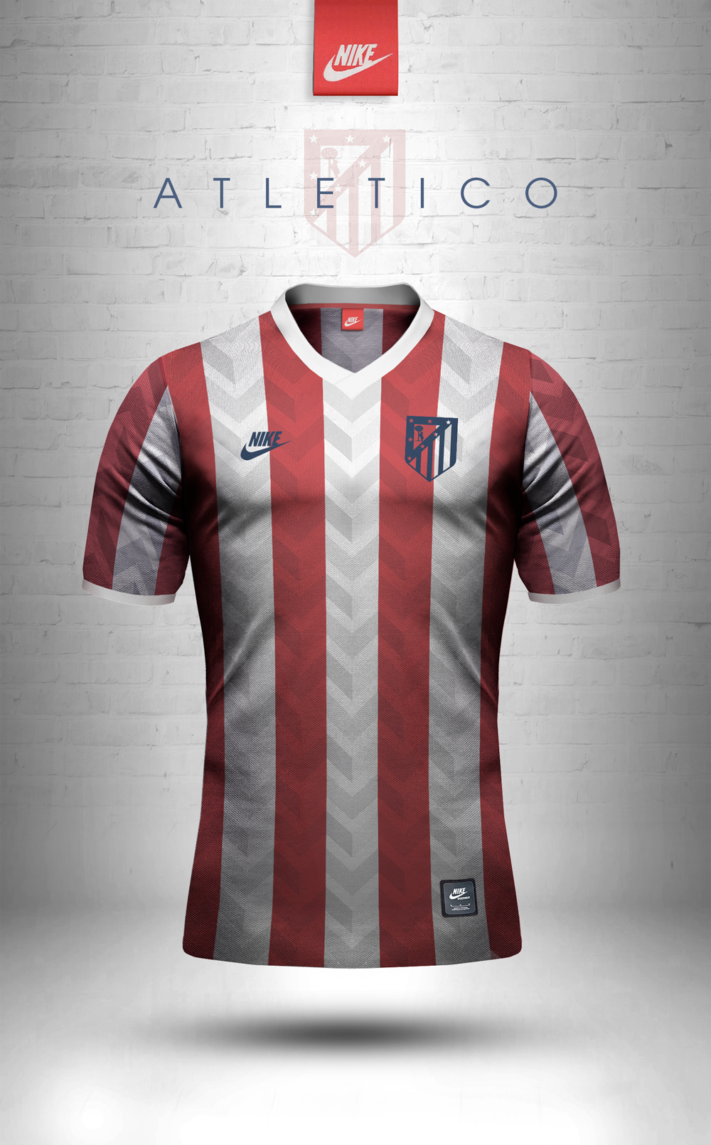pretty nice faeee d625d Adidas Originals and Nike Sportswear jersey design concepts using geometric  patterns.