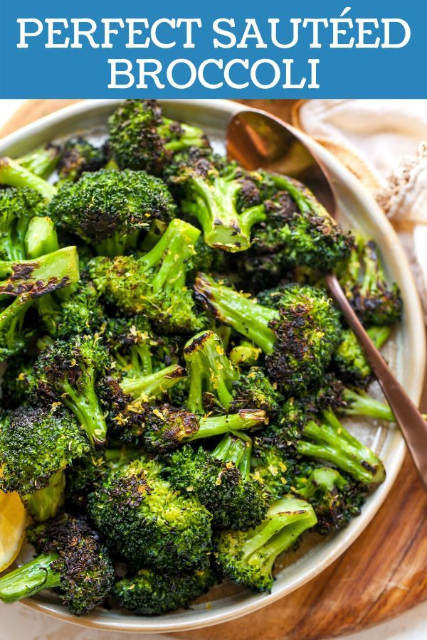 Perfect Sautéed Broccoli