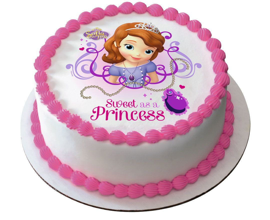 Sweet Sofia Cake Design Verona : Sofia the First Sweet as a Princess Edible Cake Decoration ...