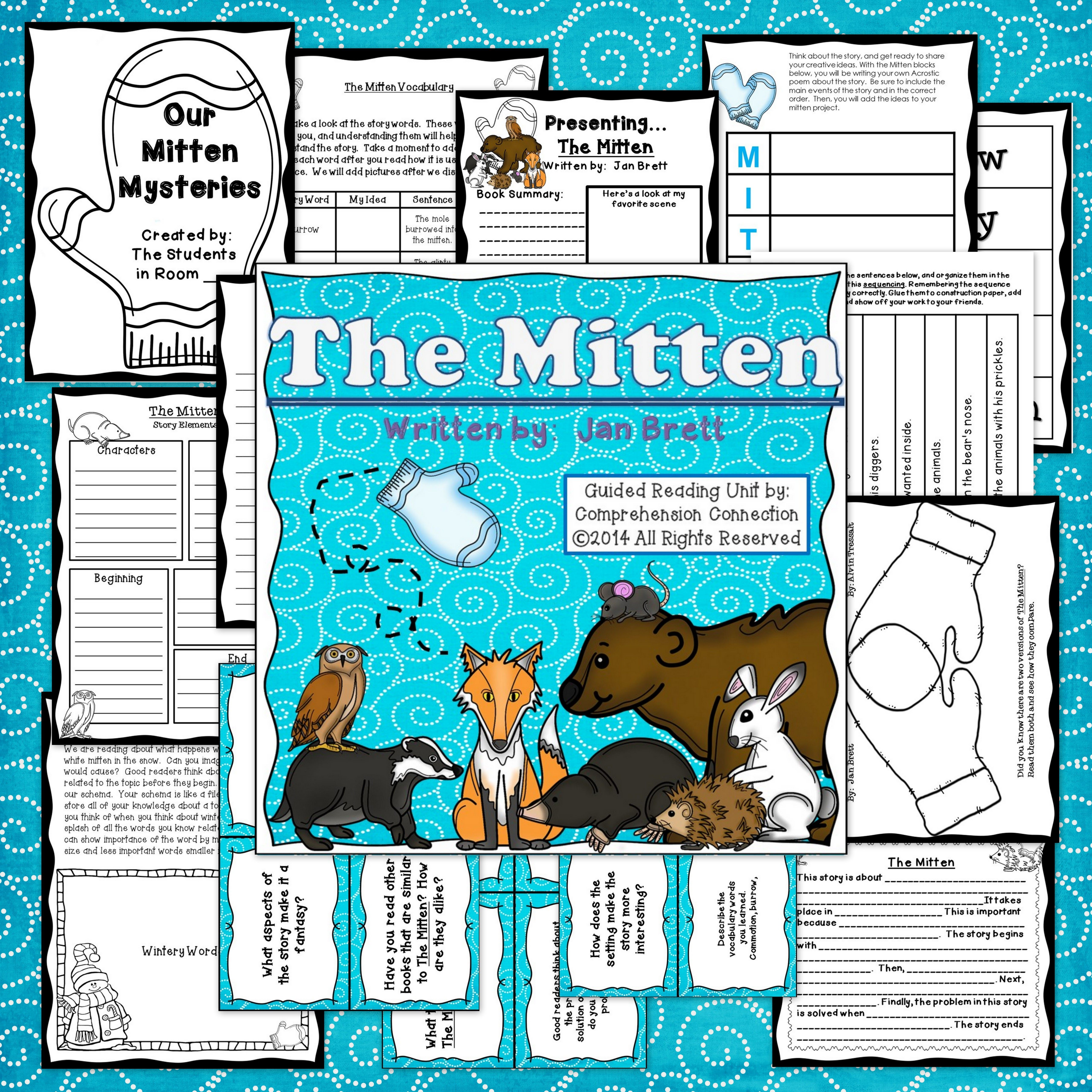 The Mitten By Jan Brett Book Companion In Digital And Formats