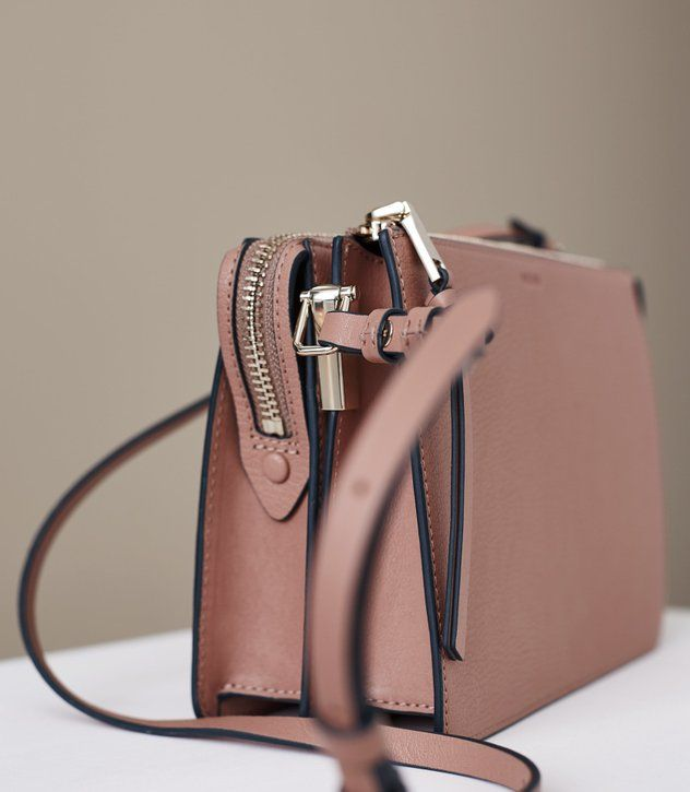 994608723c REISS - DALSTON LEATHER CROSS-BODY BAG