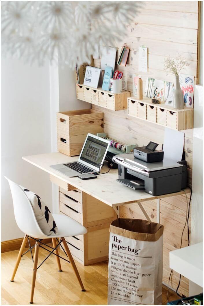 10 Diy Home Office Desks For Your Inspiration Home Office Decor Home Office Design Tiny Office