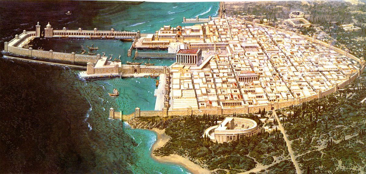 Caesarea maritima buscar con google griegos y romanos for Arquitectura naval e ingenieria maritima