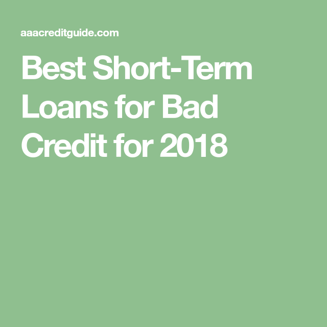 Best Short Term Loans >> Best Short Term Loans For Bad Credit Our Top 6 Picks Of 2019