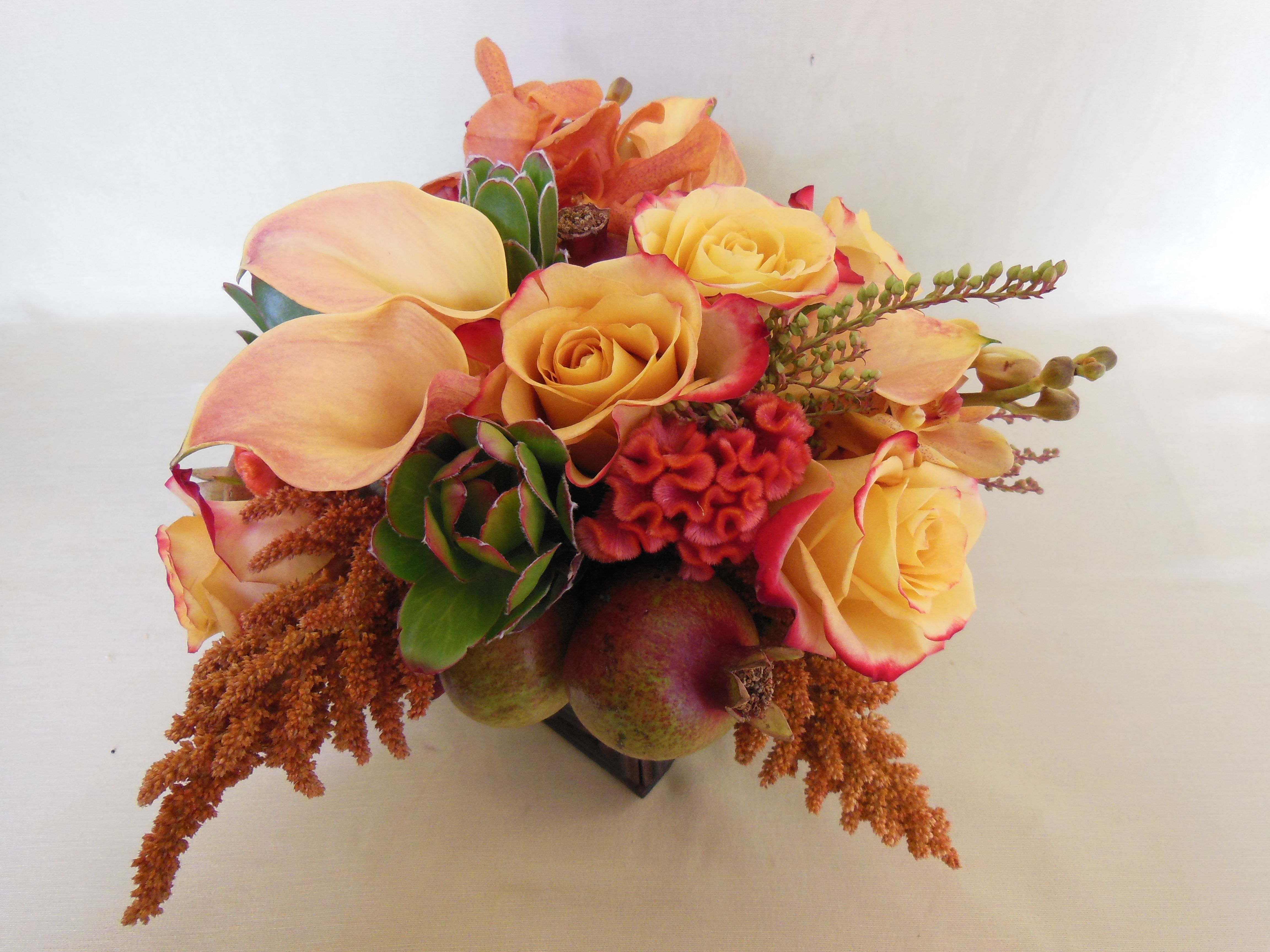 Autumn Harvest Flowers - Bedford Village Florist - Westchester New