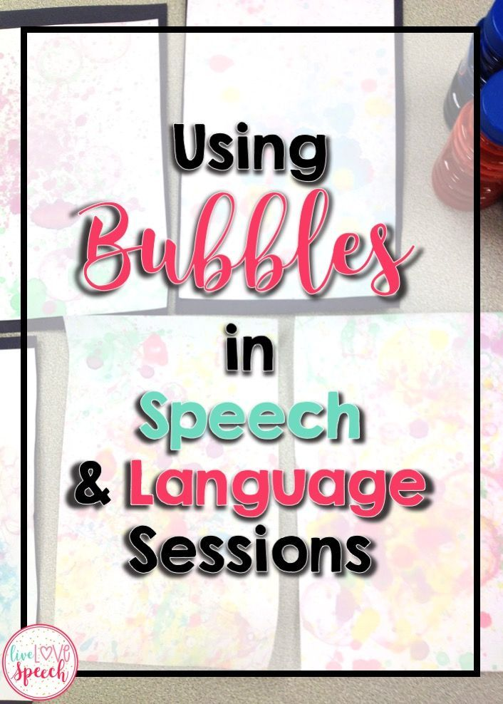 Your speech students are going to LOVE playing with bubbles when they come into their session. Use the ten ideas included at this blog post with your preschool, Kindergarten, 1st, 2nd, 3rd, 4th, or 5th grade students. It's great for classroom teachers, home school parents, speech language pathologists, and more. Click through now to see how to use these with individual students, partners, small groups, and more.