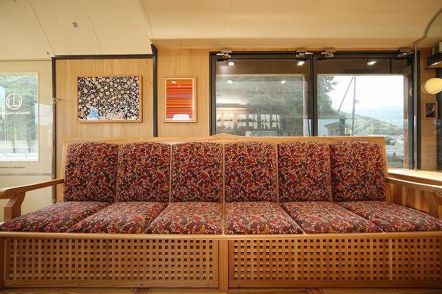 フリースペースのソファーシート