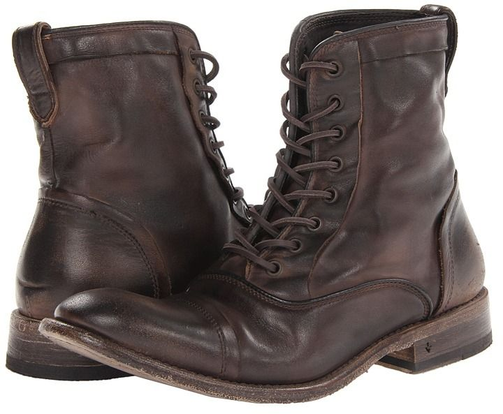c72c7ef4226 Pin by Lookastic on Brogue Boots & Combat Boots | Mens brogue boots ...