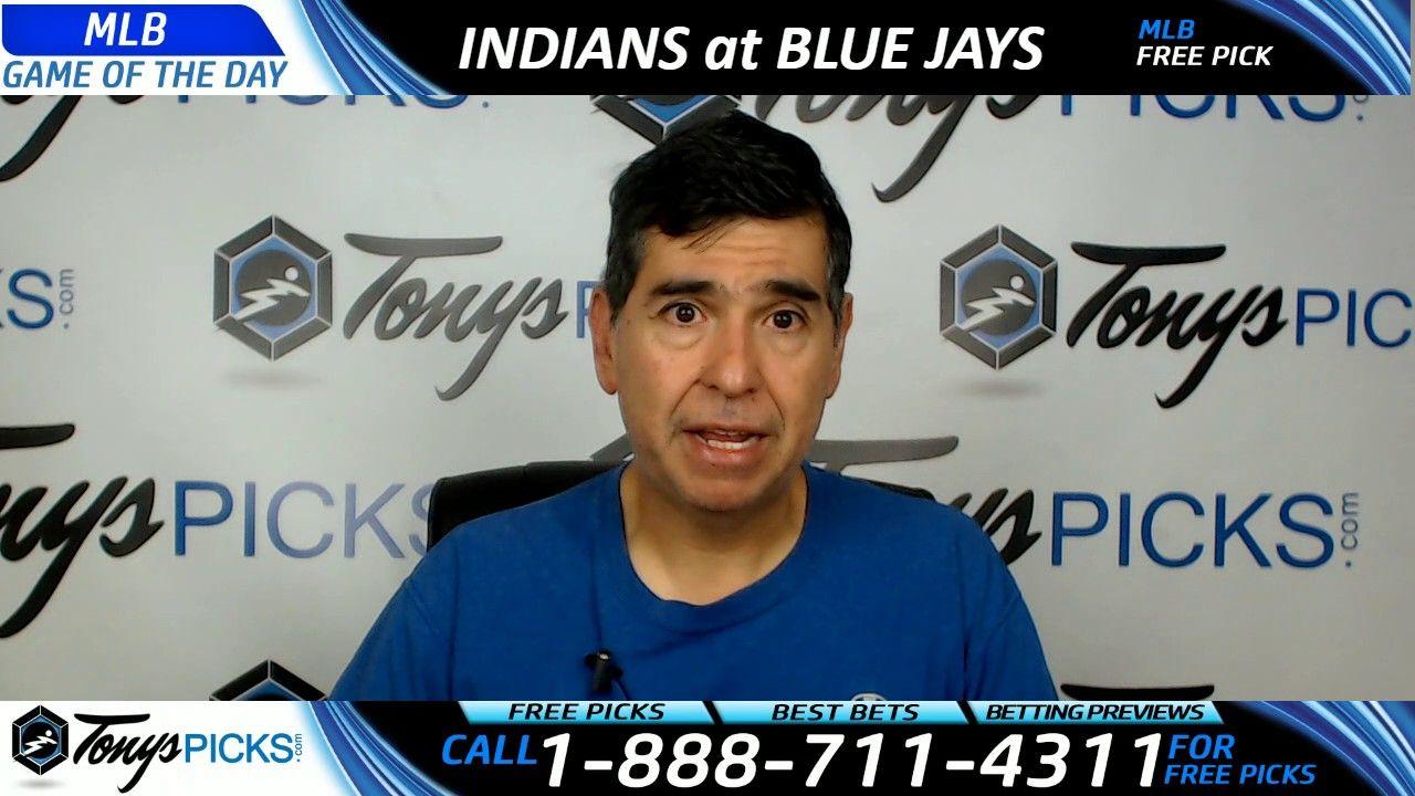 Cleveland Indians vs. Toronto Blue Jays Free MLB Baseball