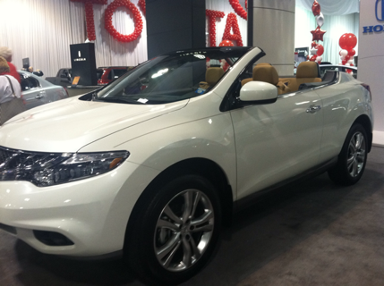 Nissan Murano Convertible Now This Is Different Nissan Murano Convertible Mini Van Nissan Murano