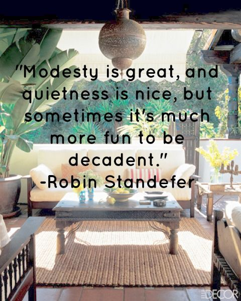 Quote Of The Day: Modesty Is Great, But...