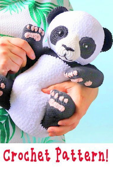 Panda Bär Häkelanleitung Amigurumi Panda Bär Anleitung Panda Bär Amigurumi  crochet panda pattern amigurumi