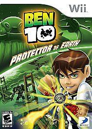 Ben 10 Protector Of Earth Nintendo Wii 2007 Ben 10