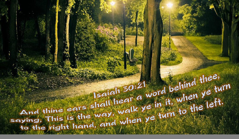 Isaiah 30:21 | Sayings, Isaiah 30, Hearing