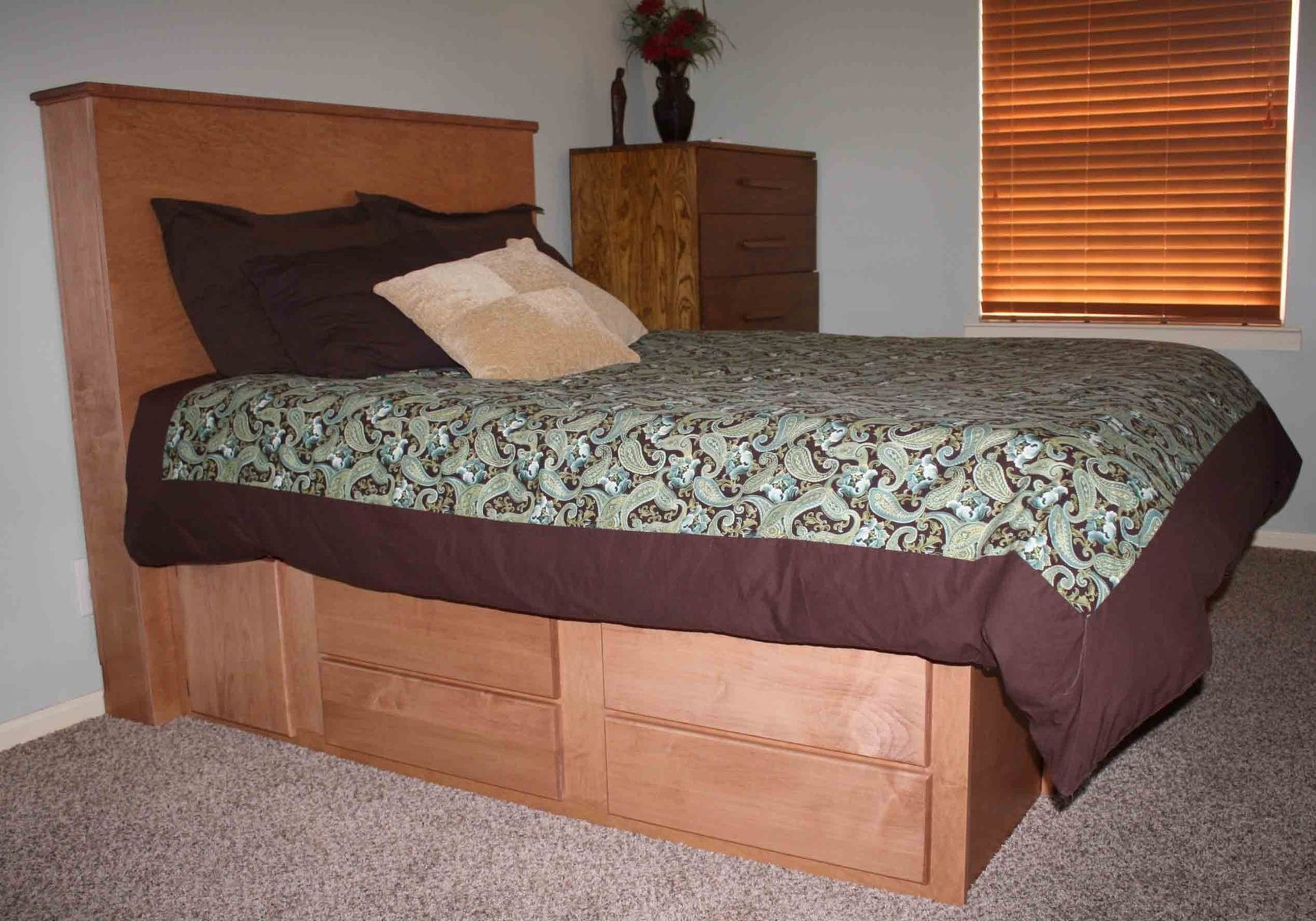 Custom Made Gun Bed With Hidden Compartment Gun Cabinet In
