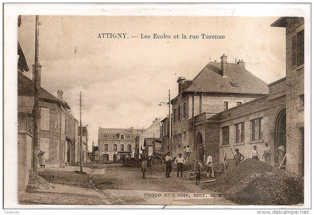Cartes Postales > Europe > France > 08 Ardennes > Attigny - Delcampe.fr | Carte postale