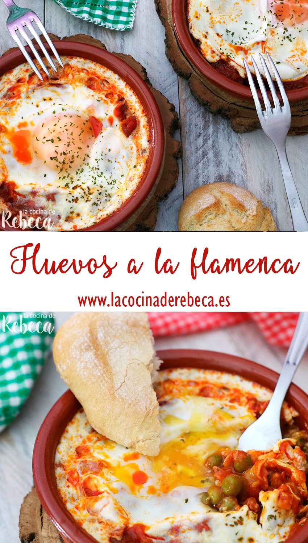 Huevos A La Flamenca Huevos En Microondas Gastronomia Recetas Con Tomate