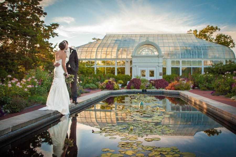 Wedding Photography Garden At The Toledo Zoo