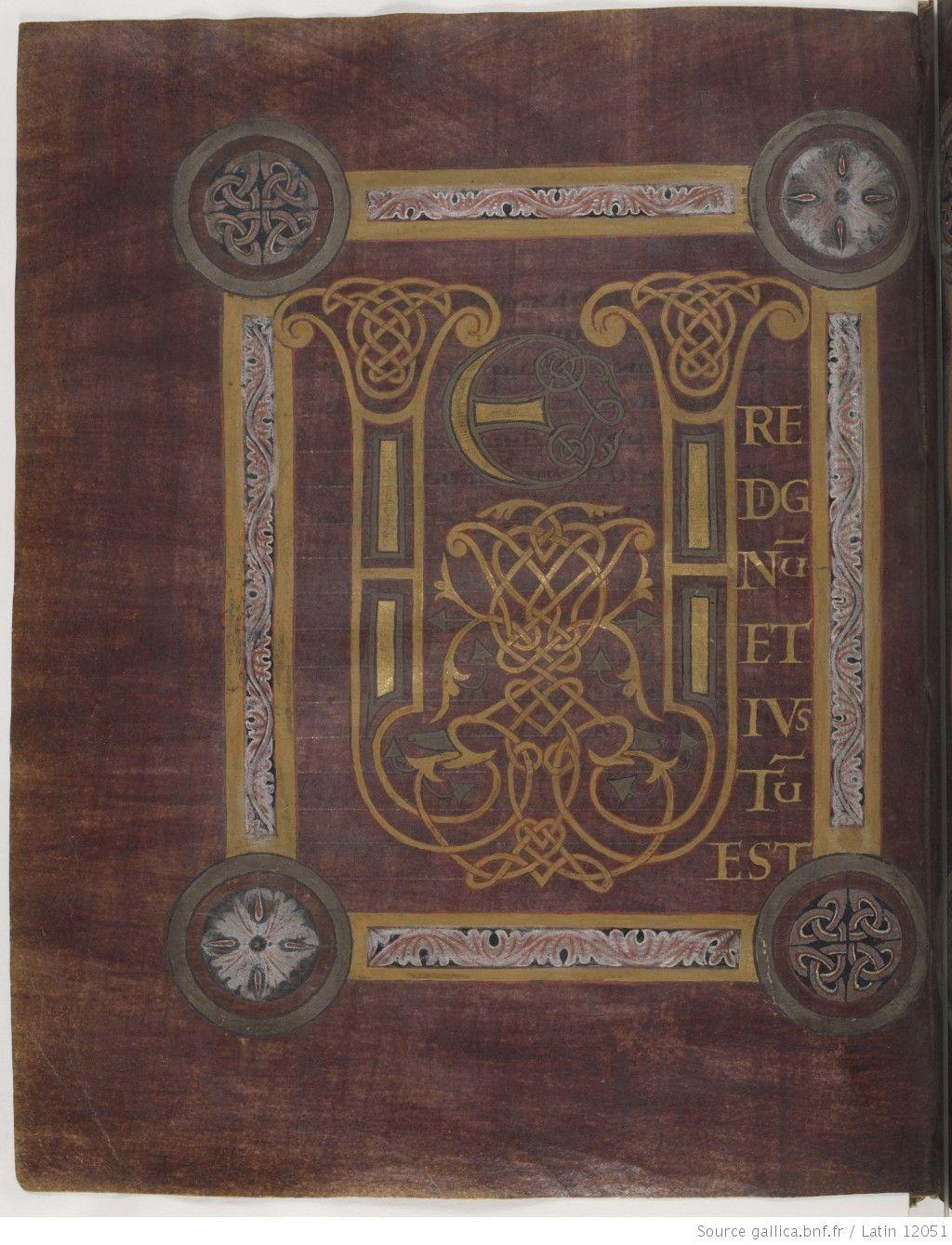 Sacramentarium gregorianum (Sacramentaire grégorien dit de Corbie ou de Saint Eloi) -- IXe s. (troisième quart, après 853) -- manuscrits