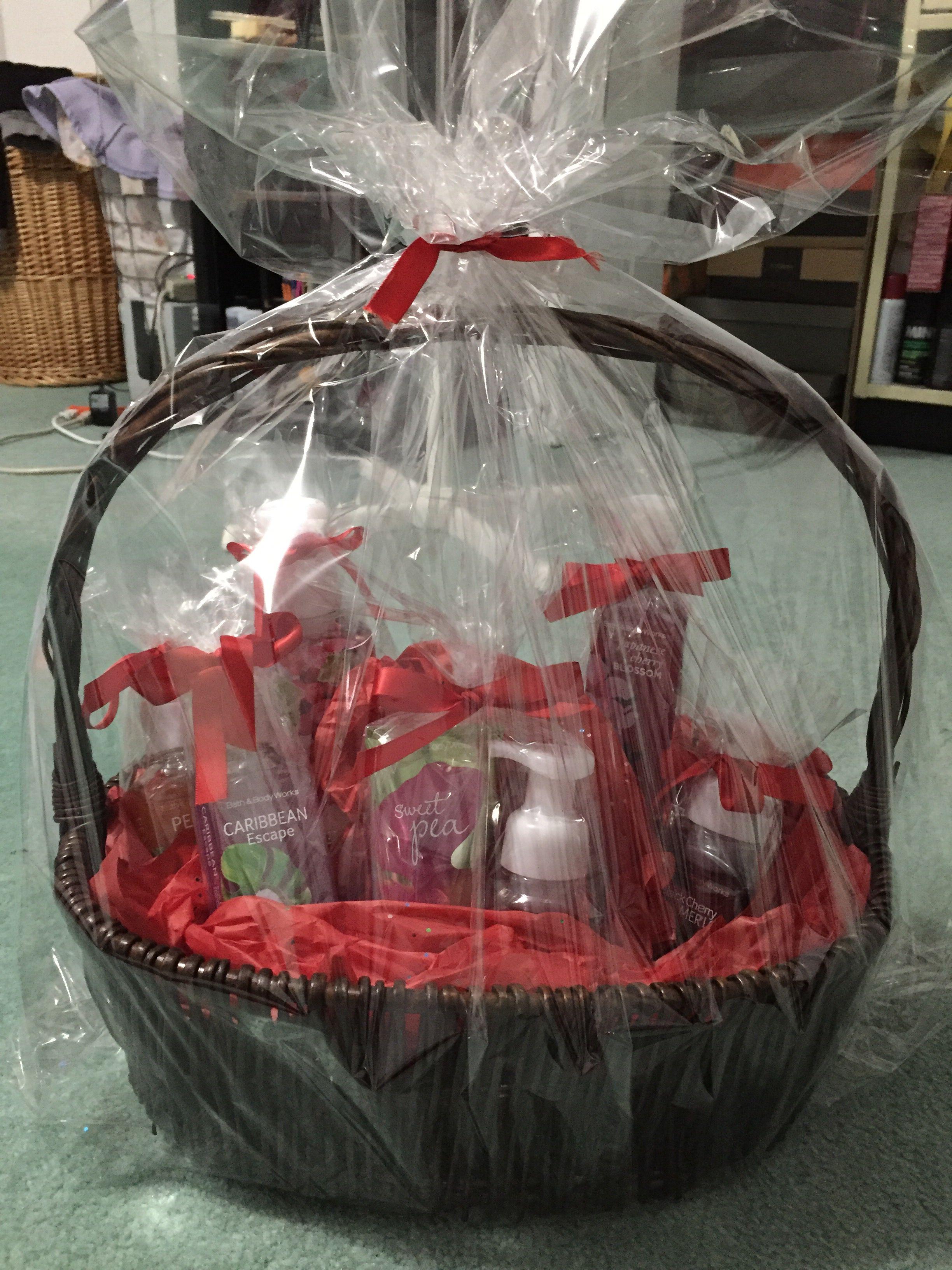 Diy Bath And Body Works Gift Basket Home Decor Baskets Bath