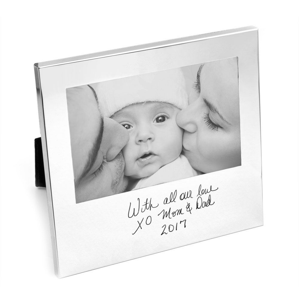 Thoughtful engraved handwritten picture frame | Customized Gifts ...