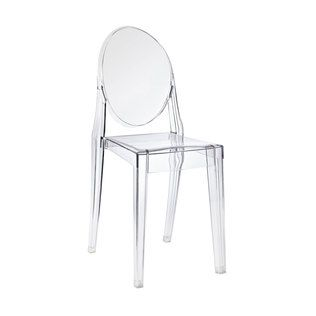 Anywhere Chair in Clear - $99