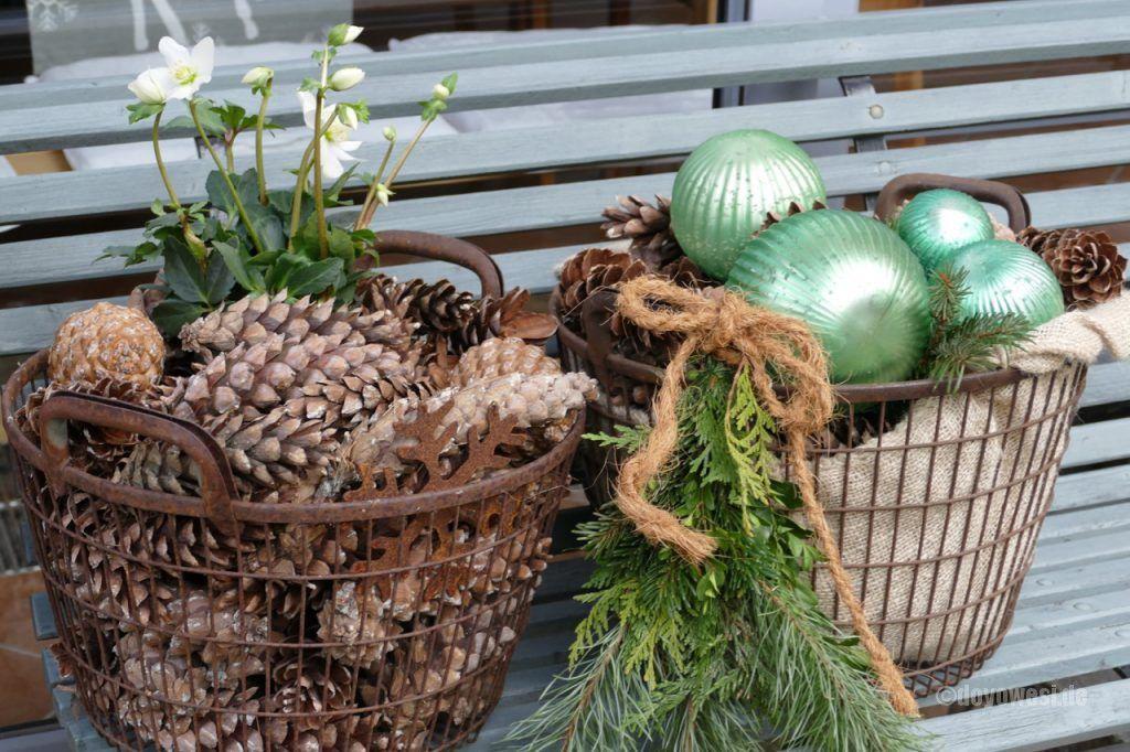 Dezember-Impressionen #weihnachtendekorationdraussengarten