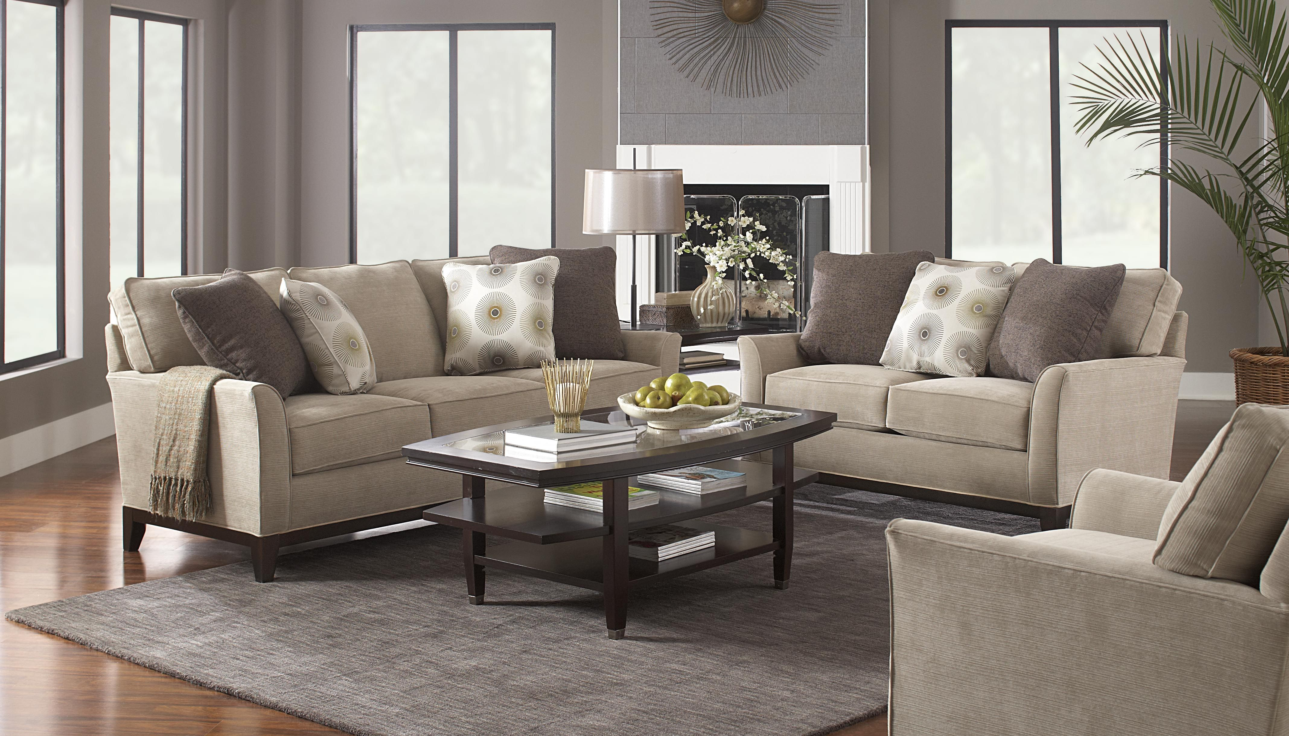picture of Alexandria Beige 5 Pc Living Room from Living Room Sets