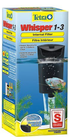 Spectrum Filtre Puissant Int Rieur Moteur Whisper 1 3 De Tetra Aquarium Filter Ghost Shrimp White Cloud Minnow