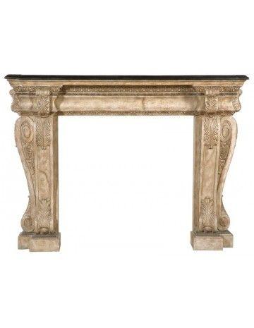 Brookstone Fireplace Surround - Fireplaces & Mantels - Living Room