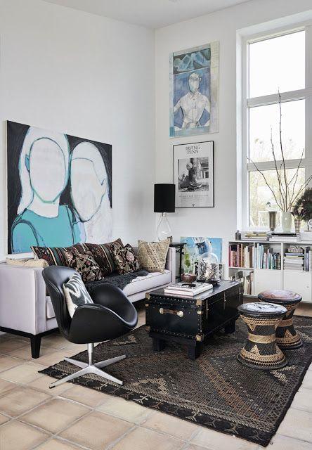 coffee in the sun: Eclectisch en kleurrijk interieur | interior ...