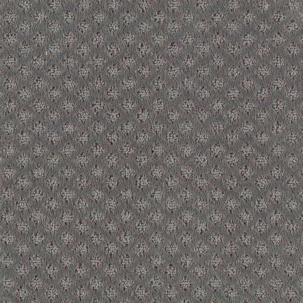 Rapid Install Fast Walk Color Grey Flannel Loop 12 Ft Carpet Polypropylene Carpet Patterned Carpet Home Decorators Collection