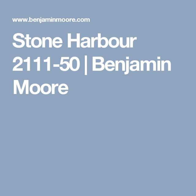 Benjamin Moore Stone Harbour: Stone Harbour 2111-50