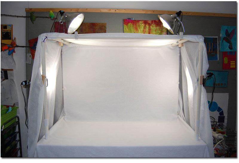 Diy large light tent tutorial photography lighting diy