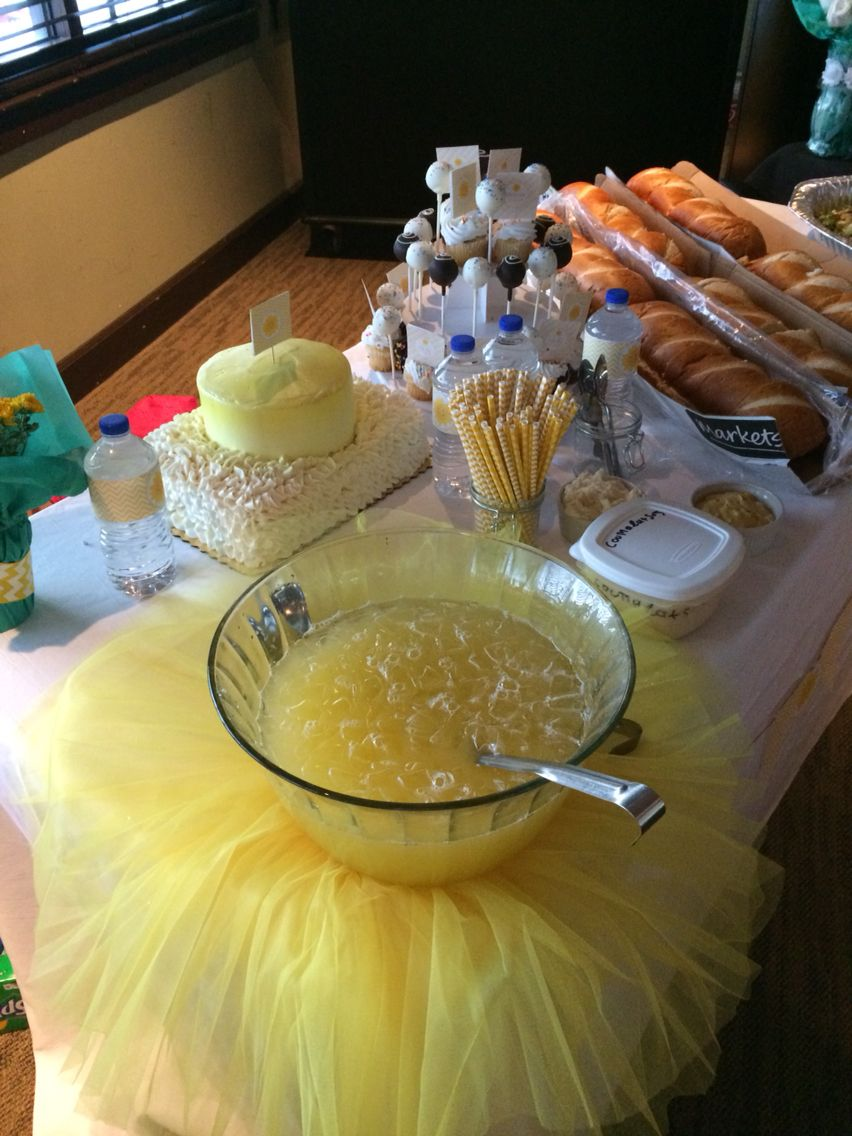 Baby shower ideas on a low budget - Sunshine Theme Baby Shower Super Easy And Low Budget