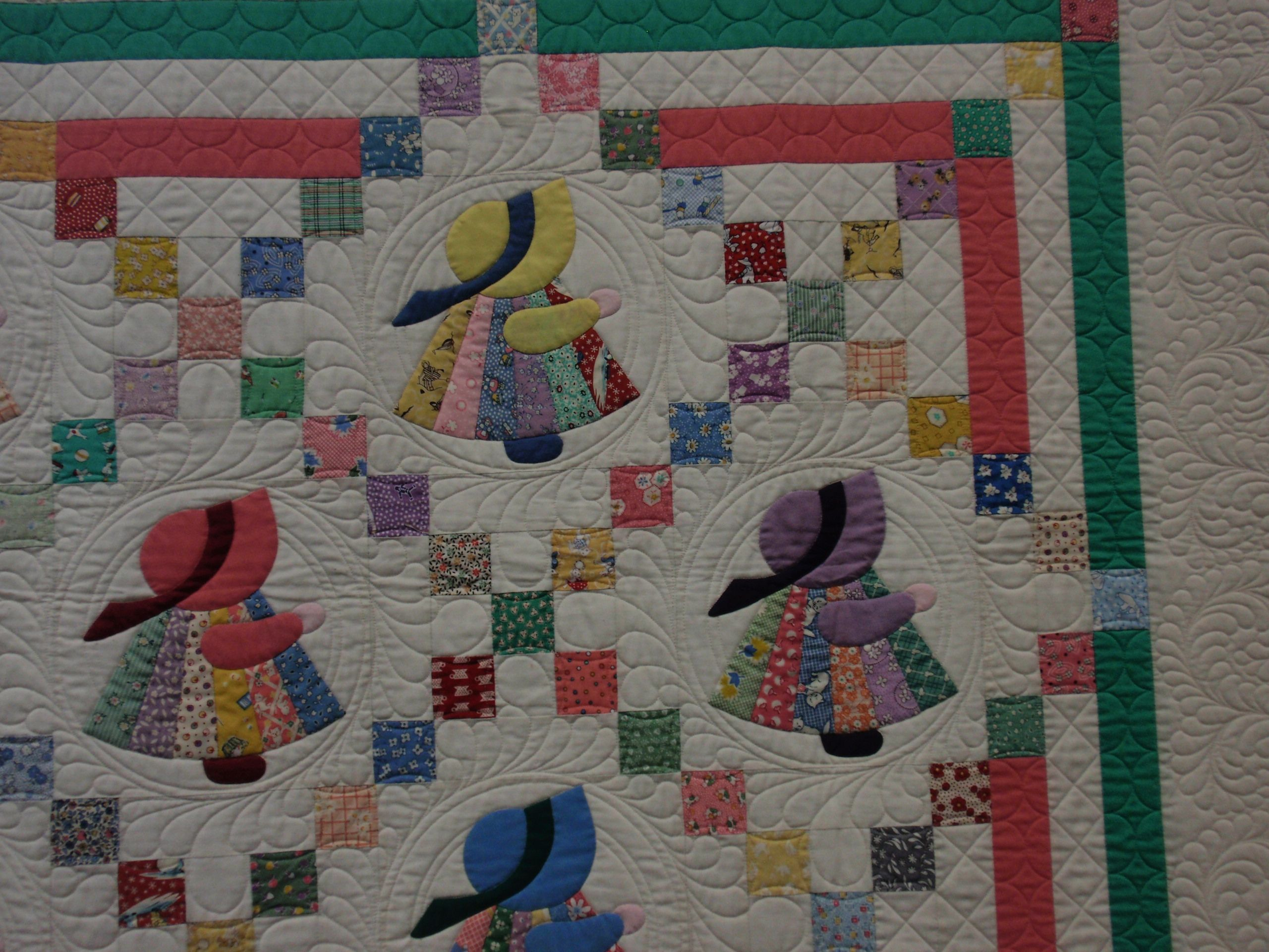 How Would You Quilt A Sunbonnet Sue Quilt Patterns Free