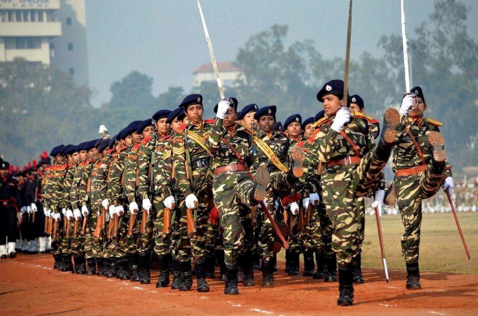 Republic Day Parade 2016 photo Police recruitment, Army