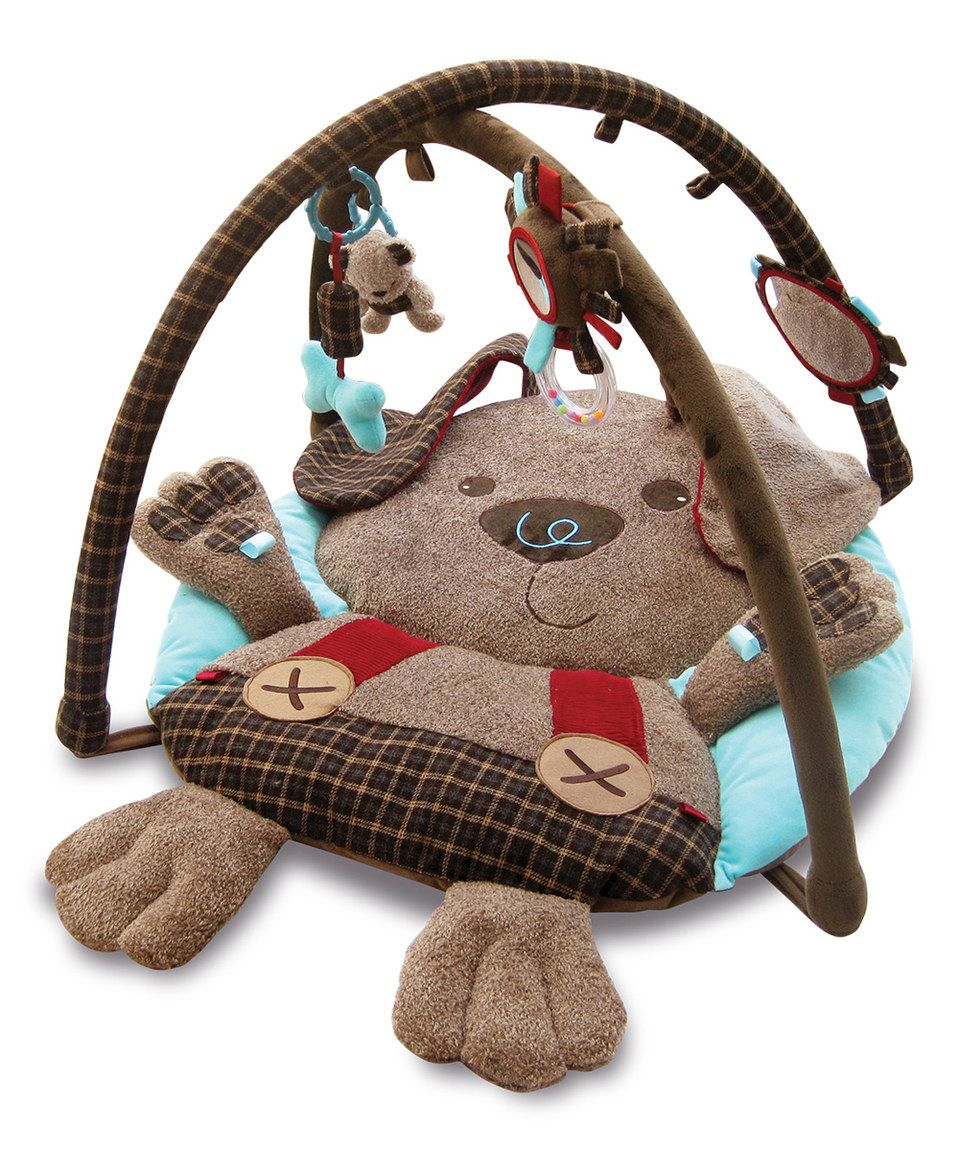 Look what I found on #zulily! Percy Pup Play Gym by Little Bird Told ...