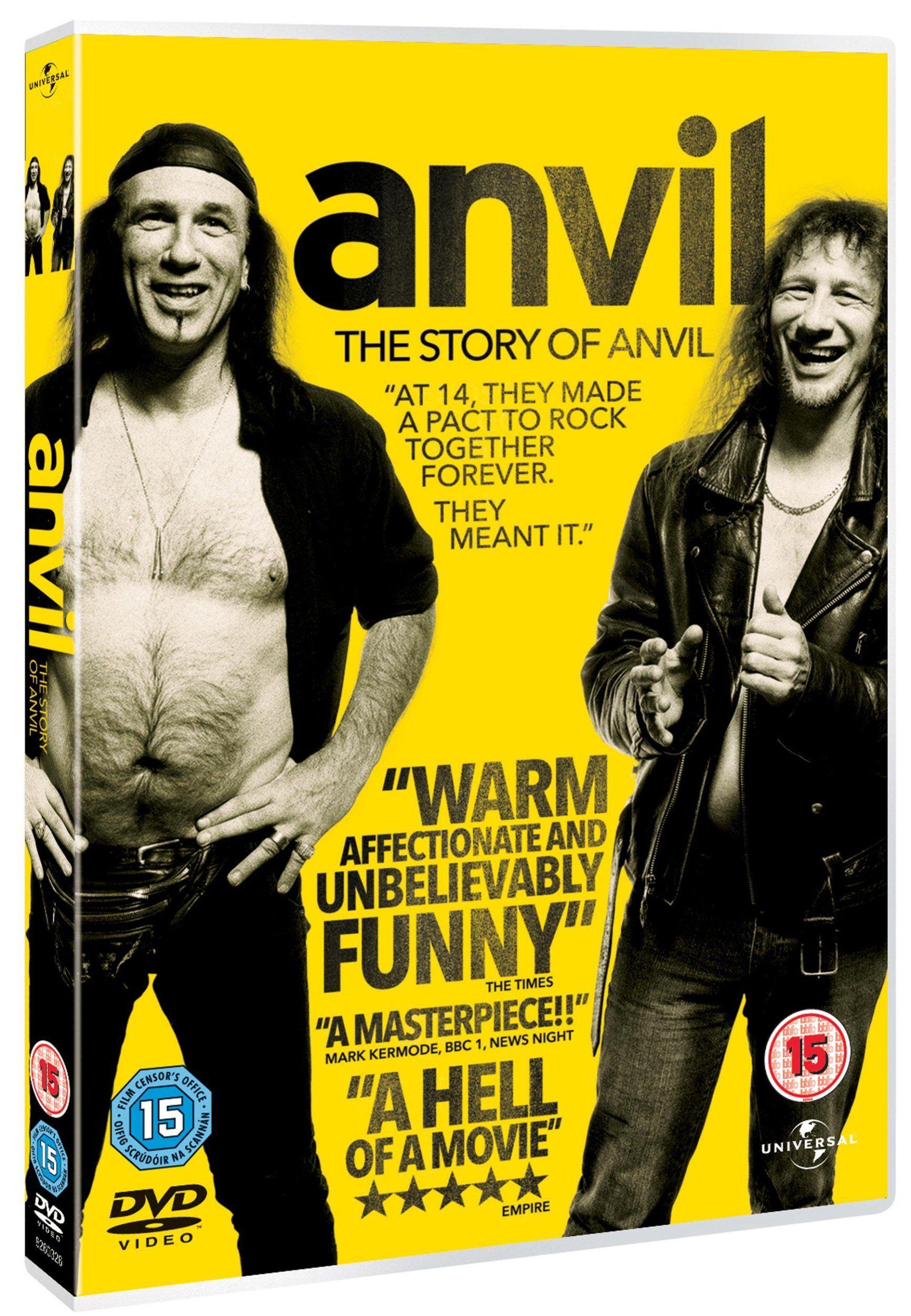 Anvil! The Story Of Anvil Edizione Regno Unito Reino
