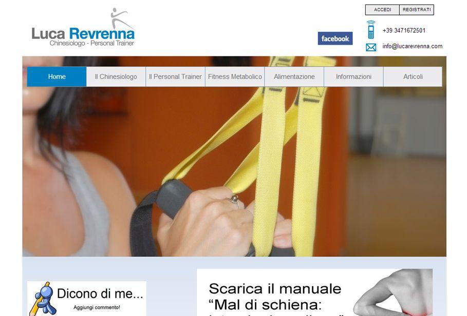 Website Luca Revrenna