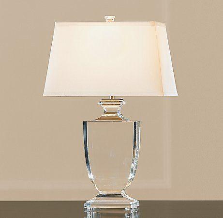 Palladian Crystal Urn Table Lamp Crystal Restoration Hardware Table Lamps For Bedroom Bedside Table Lamps Table Lamp Crystal base table lamps
