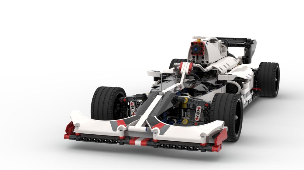 2019 Formula 1 (F1) car 42096 B Model Car, Lego