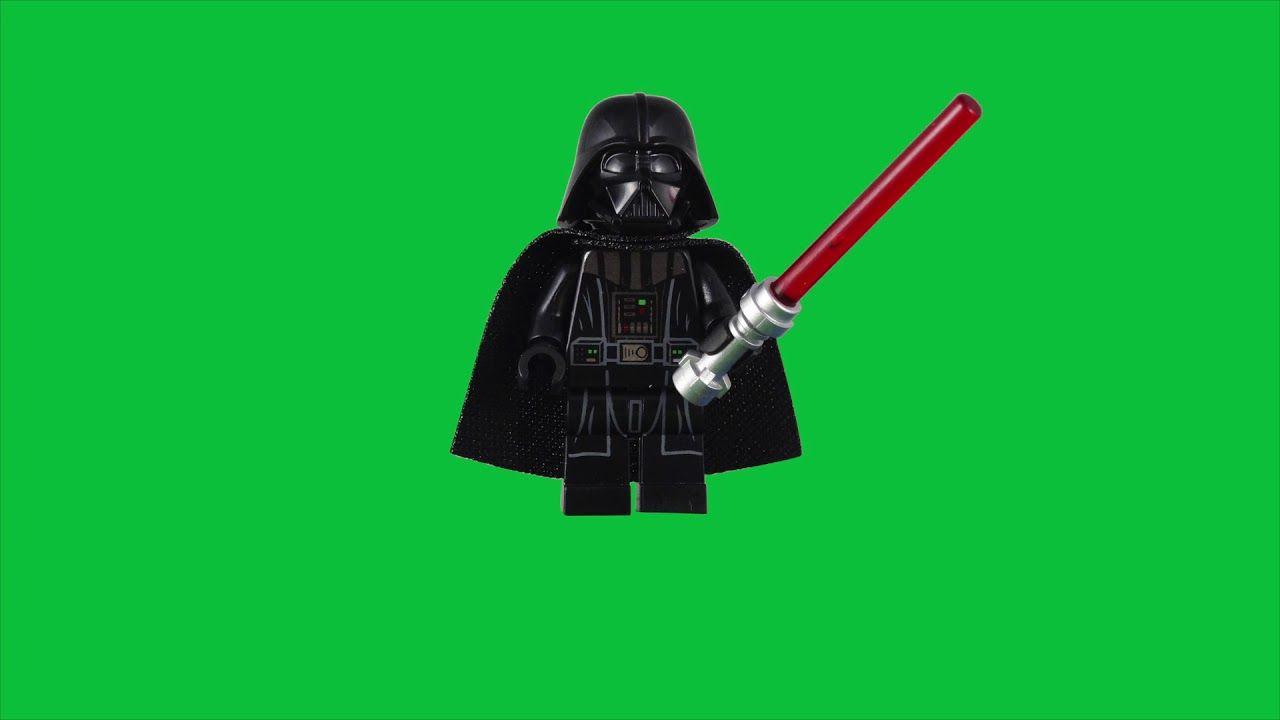 Lego Darth Vader Minifigure 2015 Redesign Green Screen Stop Motion Build Darth Vader Stop Motion Lego Star Wars