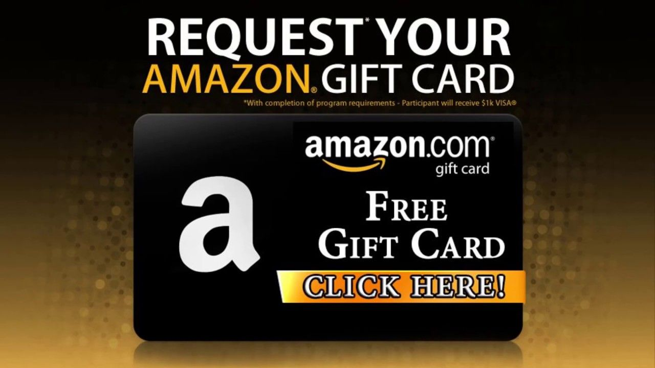 Amazon gift card how to get free gift card online