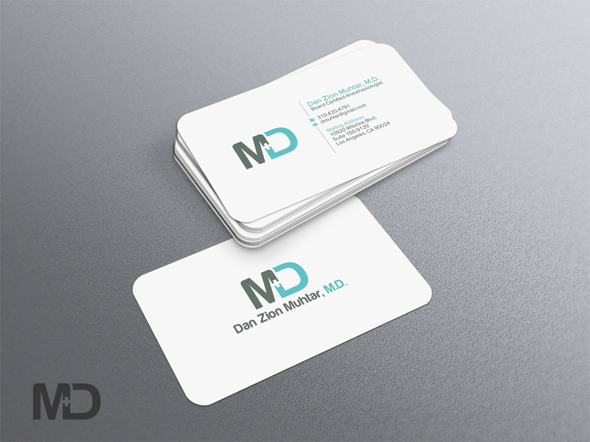 Business card design design design 2604291 submitted to business card design design design 2604291 submitted to anesthesia medical practice business card reheart Images